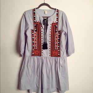 H&M boho dress EUC 10
